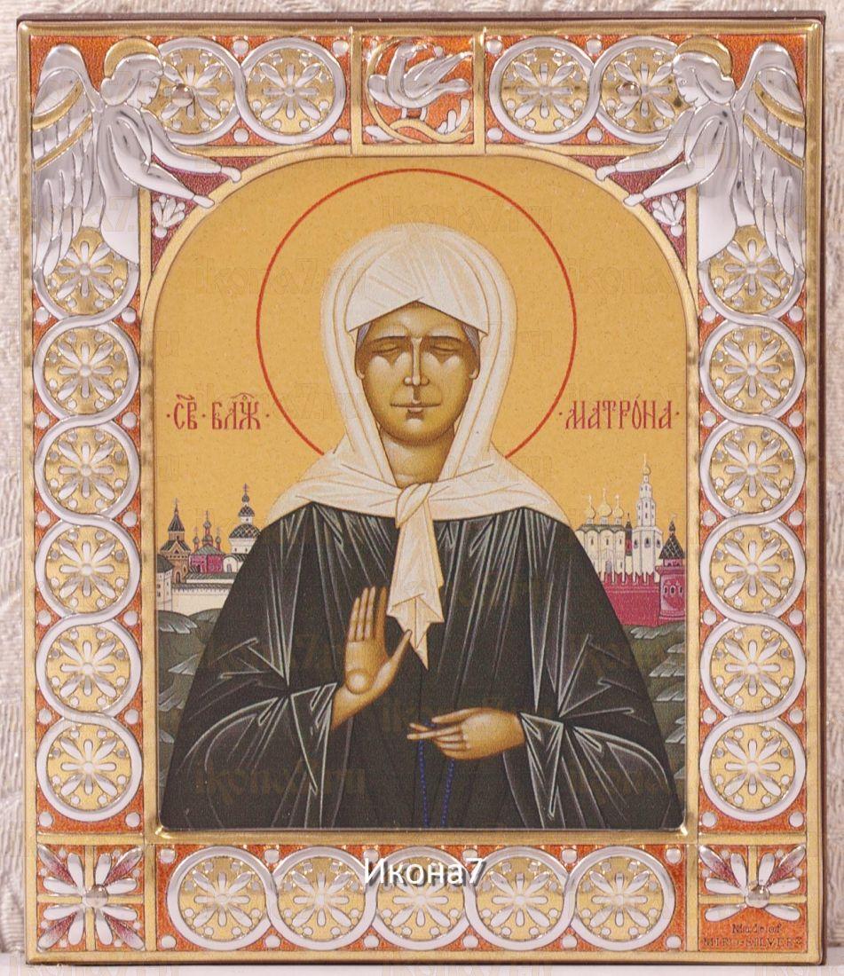 Икона Матрона Московская (9х10,5см)