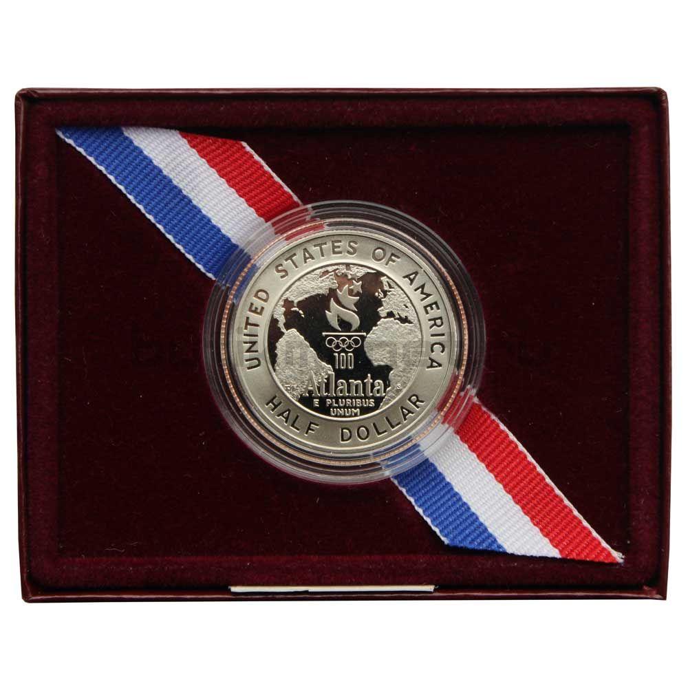 50 центов 1995 США XXVI летние Олимпийские Игры, Атланта 1996 - Баскетбол (В блистере)