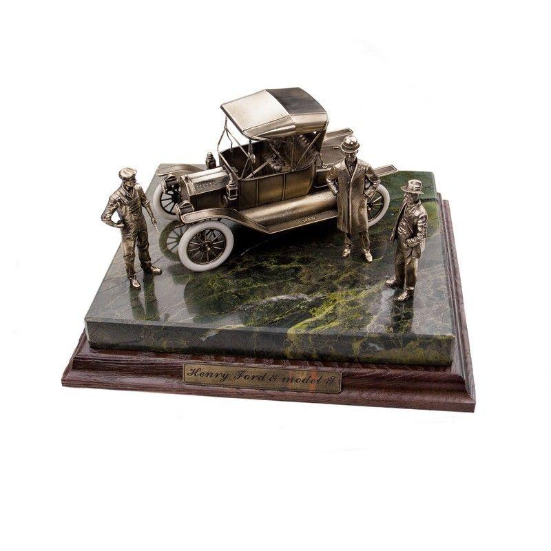 """ДИОРАМА """"Генри Форд и модель """"Т""""""""  1/24"""