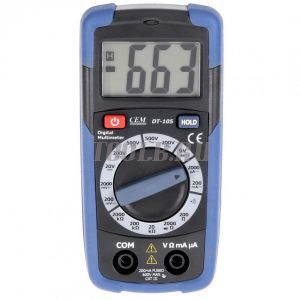 CEM DT-105 мультиметр цифровой