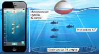 Эхолот для рыбалки с берега беспроводной iBobber Pulse Bluetooth Smart 17552 фото2