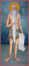 Икона Онуфрий Великий преподобный