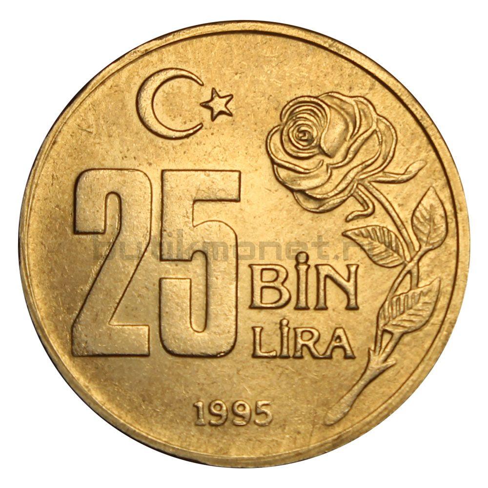 25000 лир 1995 Турция Охрана окружающей среды