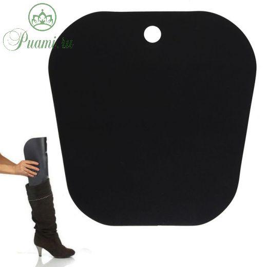 Формодержатель для обуви 24*24*0,2, цвет чёрный 1886404
