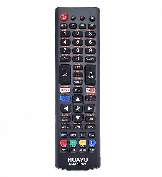 Пульт ТВ универсальный HUAYU RM-L1376M (LCD/LED)