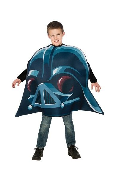 Детский костюм Дарт Вейдер в стиле Angry Birds