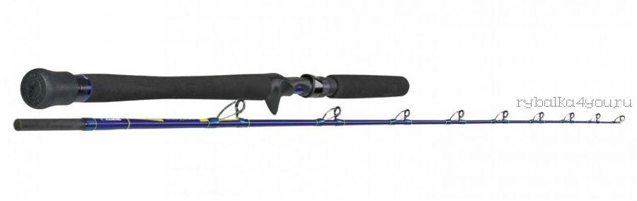 Удилище Sportex NepTooN Jigging Baitcast JO1620 1.65 м 20lbs (цельный бланк со съемной ручкой с курком, кольца с низкой посадкой, силовые, облегченные, под мульт)