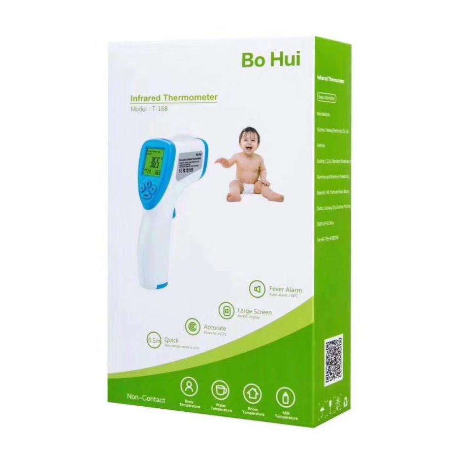 Бесконтактный инфракрасный термометр Bo Hui T-168