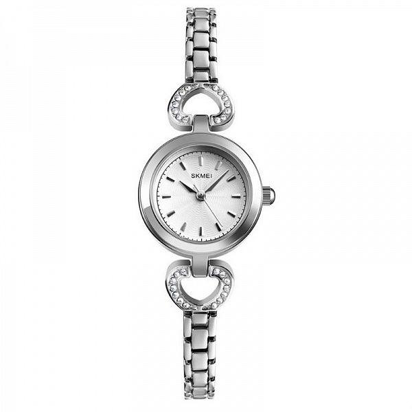 Часы наручные Skmei 1408 серебро