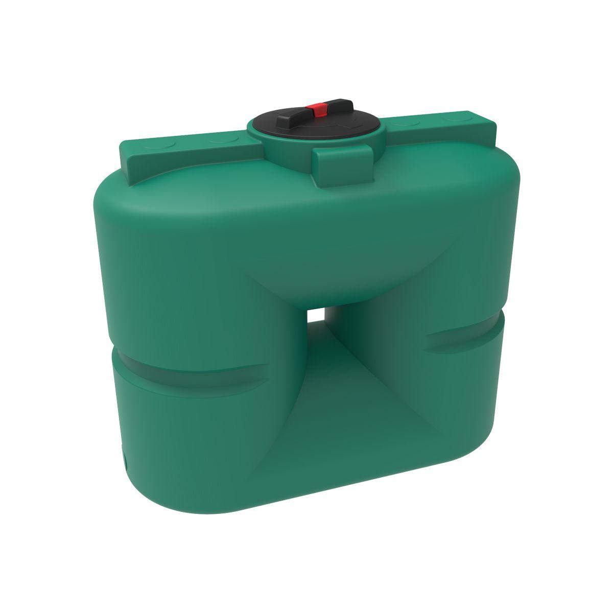 Бак для воды S 500 литров зеленый пластиковый