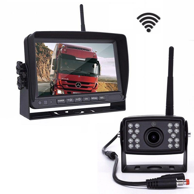 Беспроводная камера с монитором для грузовиков (PZ70W7)