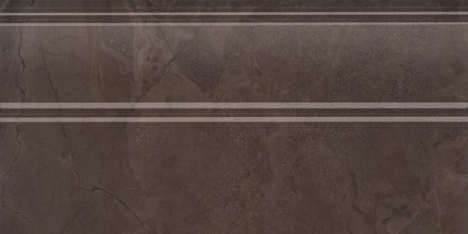 FMA017R | Плинтус Версаль коричневый обрезной