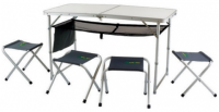 Набор складной мебели стол+стулья Canadian Camper CC-TA407S