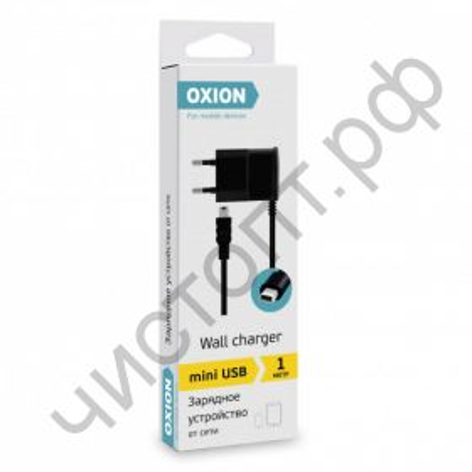 СЗУ Oxion ACA-010 miniUSB 1м 0,7A  картон. упак.