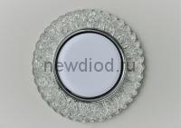 Точечный Светильник OREOL Crystal GX171 132/80mm Под Лампу GХ53 H4 Белый