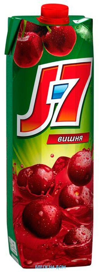 Нектар J7 Вишня, 0,97л
