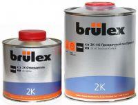 Brulex 2K-HS-Премиум Прозрачный лак 1 л + 2К отвердитель