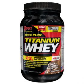 100% Pure Titanium Whey от SAN 900 гр 30 пор