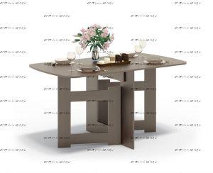 Стол-книжка обеденный Сокол СП-08 (152х85х78)