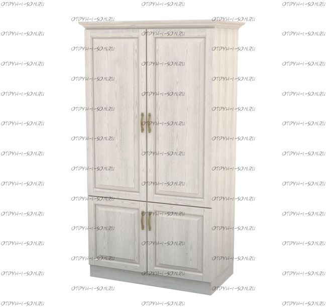 Шкаф 2-дверный Эдем Массив DreamLine (90(98)х56х220)