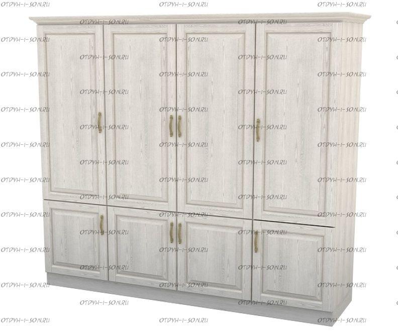 Шкаф 4-дверный Эдем Массив DreamLine (188х56х220)