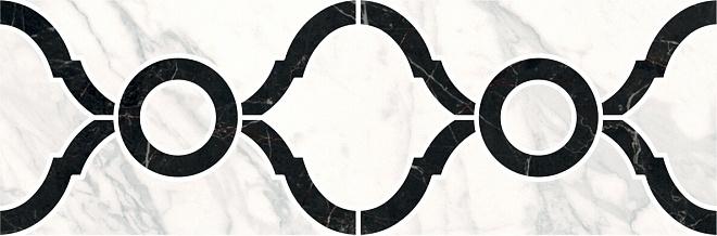 ID91 | Бордюр Фрагонар наборный белый