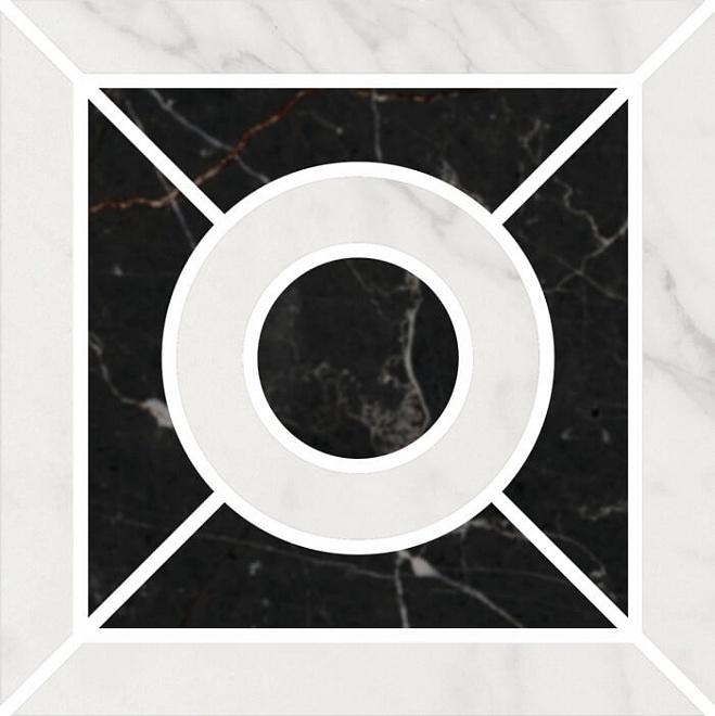ID93 | Декор Фрагонар наборный белый