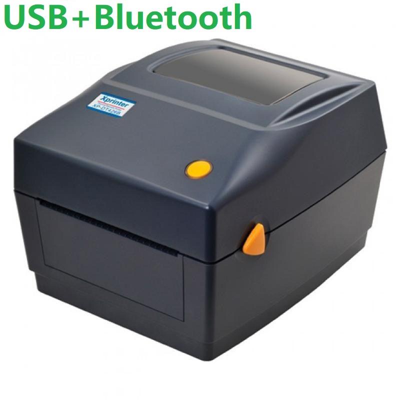 Термальный принтер этикеток Xprinter XP-460B black черный USB + Bluetooth