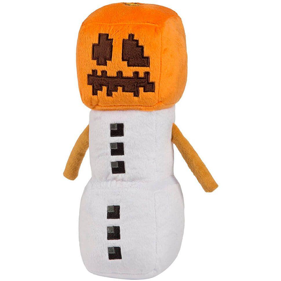 Плюшевый снежный голем Snow Golem 18 см
