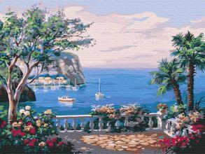 Картина по номерам «Вид на море» 30x40 см