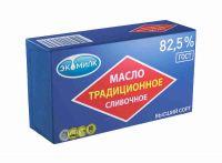 Масло сливочное ЭКОМИЛК Традиционное 82,5%, 450г