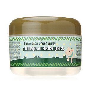 [Elizavecca] Маска д/лица желейная с коллагеном ЛИФТИНГ Green Piggy Collagen Jella Pack, 100 мл