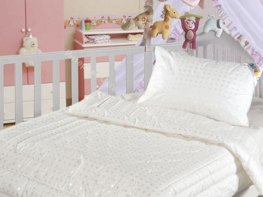 Одеяло Облачко для детей  с  наполнителем искусственный лебяжий пух
