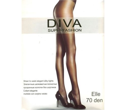 Женские колготки Diva Superfashion Elle Bronz 70 Den DIV701