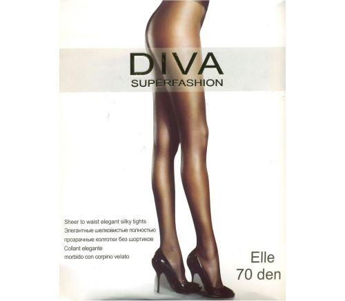 Женские колготки Diva Superfashion Elle Bronz 70 Den DIV701
