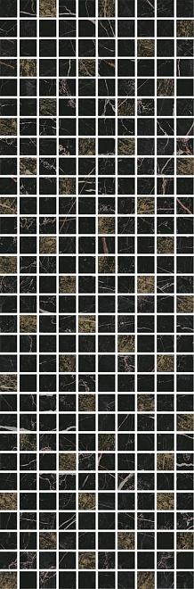 MM12111   Декор Астория черный мозаичный