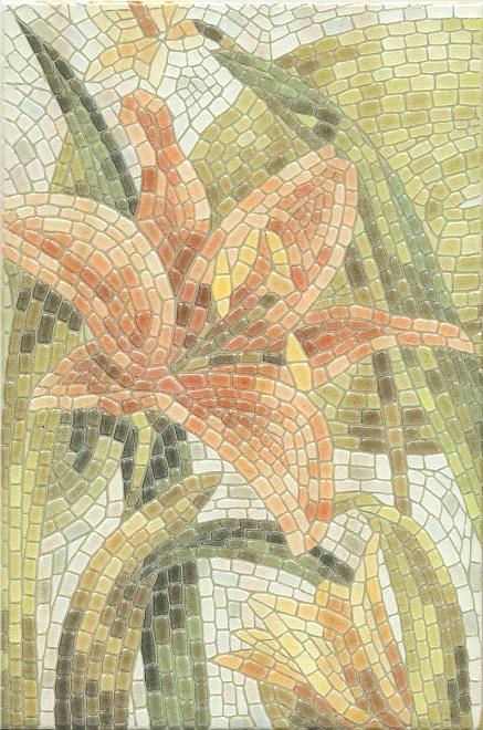 HGD/A143/880L | Декор Летний сад Лилии лаппатированный