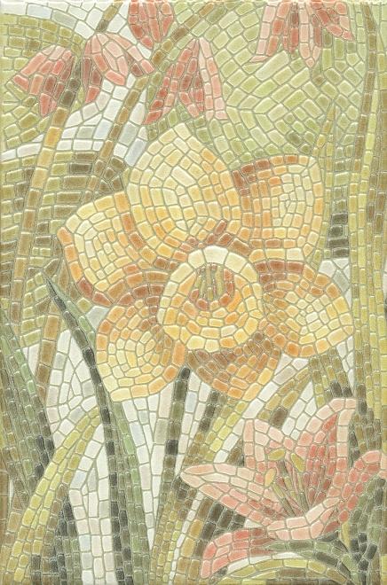 HGD/A144/880L | Декор Летний сад Лилии лаппатированный