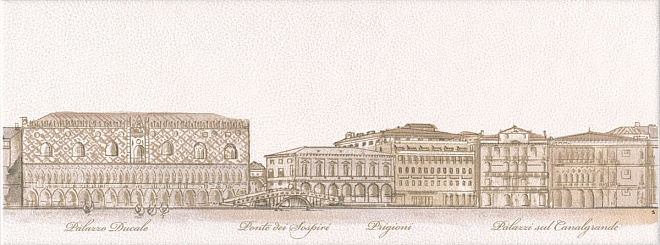 STG/A578/15061 | Декор Сафьян Панорама Venezia