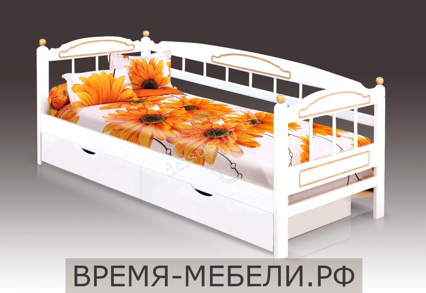 Детская кровать Радуга-М