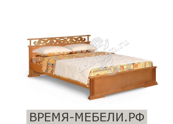 Кровать Ирида-М резная