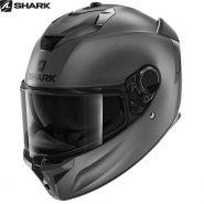 Мотошлем Shark Spartan GT Blank, Серый матовый