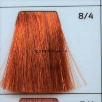 Крем краска для волос 8/4 Светло русый медный 100 мл.  Galacticos Professional Metropolis Color