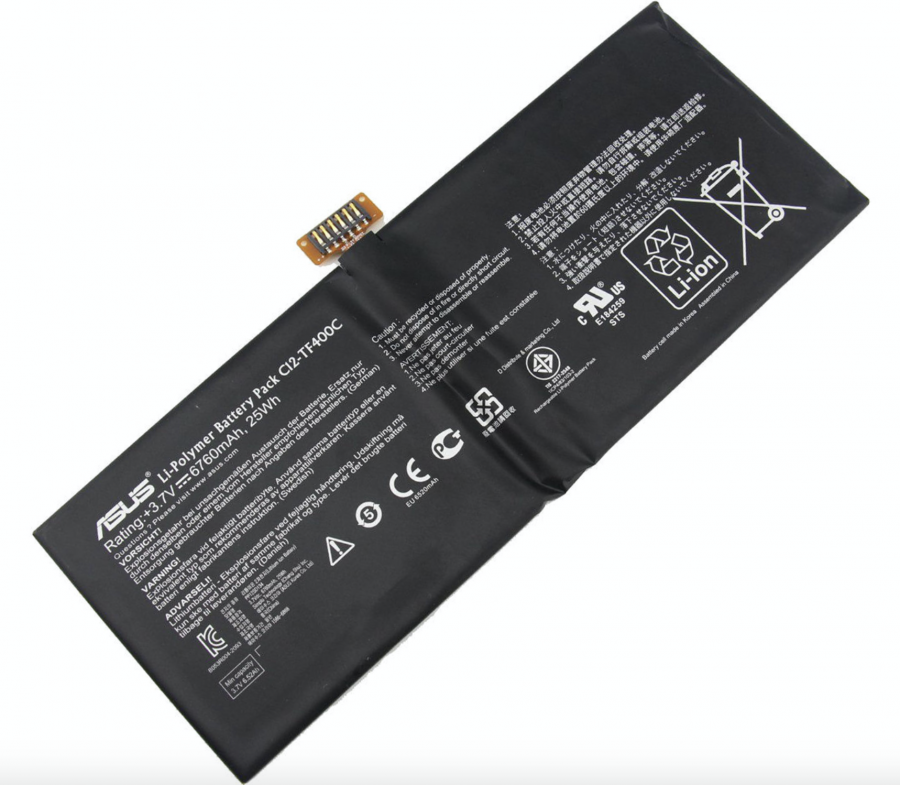 Аккумулятор Asus ME400C VivoTab Smart/ME400CL VivoTab Smart (C12-TF400C) Оригинал