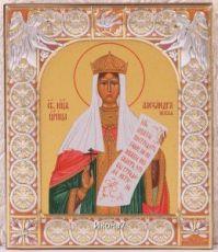 Икона Александра Романова (9х10,5см)