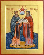 Икона Корнилий Палеостровский преподобный
