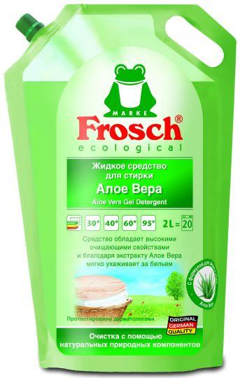 Frosch Жидкое средство для стирки Алоэ вера 2 л