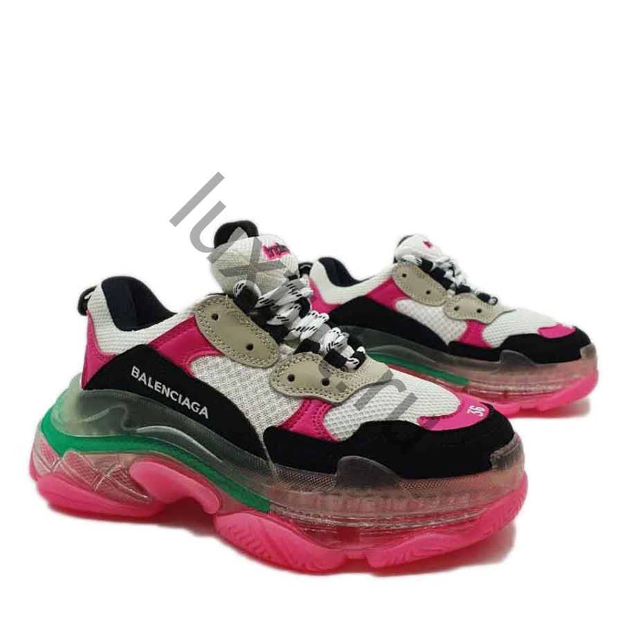 Кроссовки Balenсiagа Triple s розовые