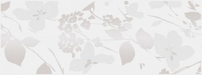 MLD/A67/15000 | Декор Вилланелла Цветы белый
