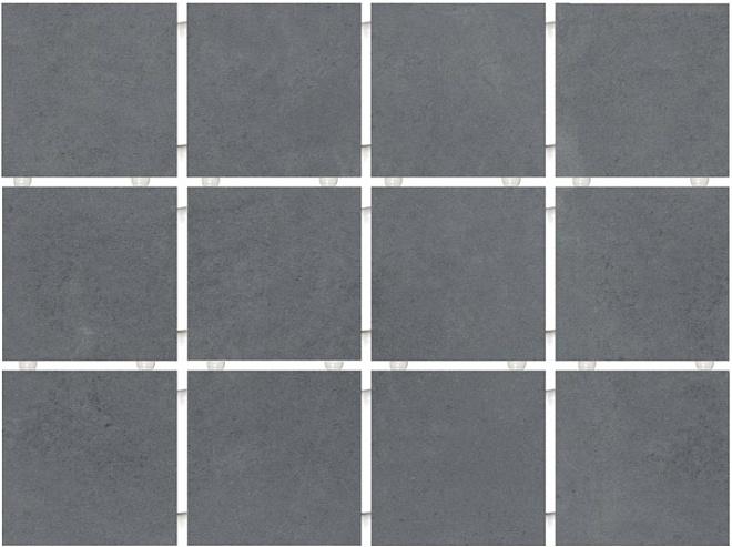 1290 | Амальфи серый темный, полотно 30х40 из 12 частей 9,9х9,9